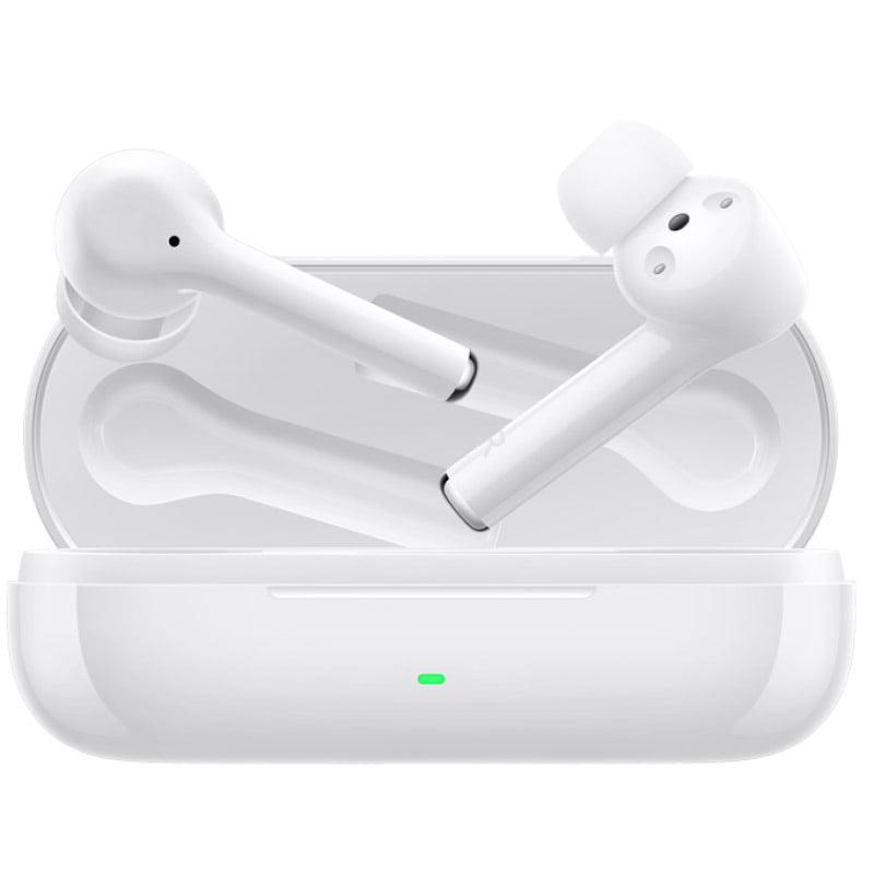Casti In-Ear Huawei FreeBuds 3i, Bluetooth, Ceramic White cu carcasa de incarcare portabila