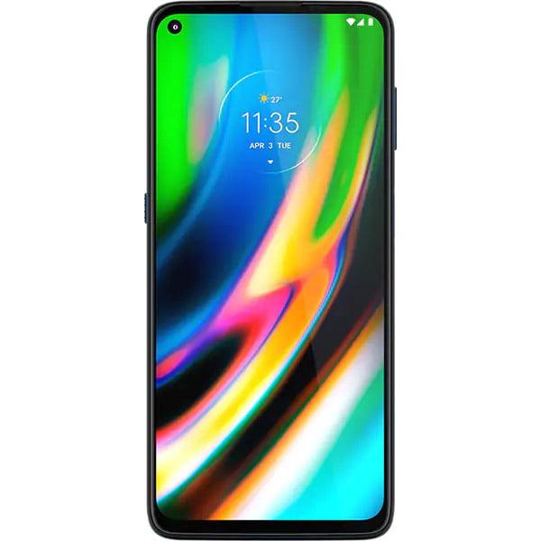 Telefon mobil Motorola Moto G9 Plus, Dual SIM, 128GB, 4GB RAM, 4G, Navy Blue