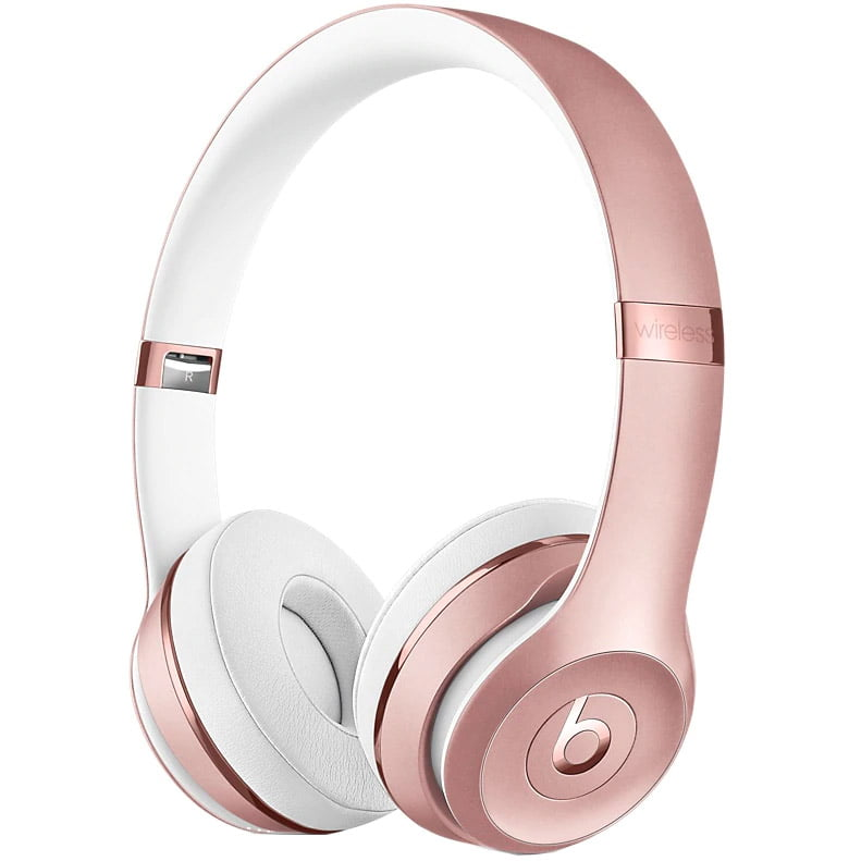 Casti audio On-The-Ear Beats Solo3, Wireless, Noise Cancelling, Rose Gold