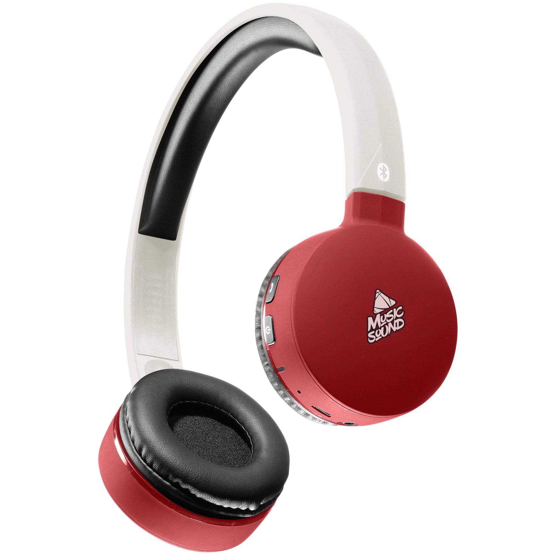 Casti On-ear CellularLine BT Music Sound 20182, Wireless, Red