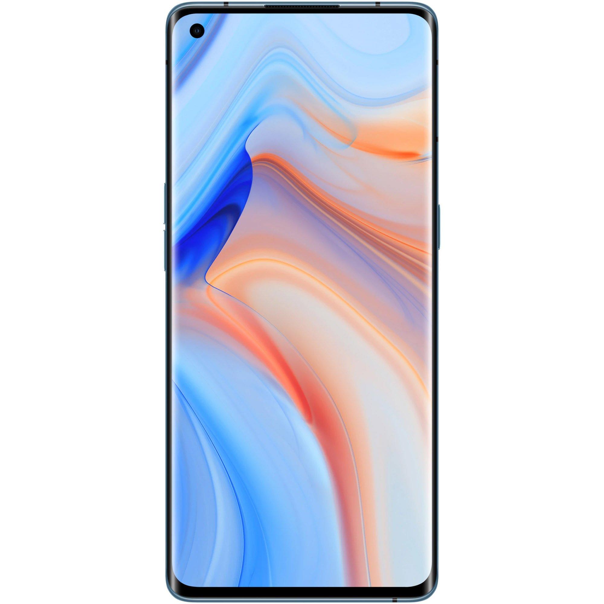 Telefon mobil Oppo Reno4 Pro, 256GB, 12GB RAM, 5G, Galactic Blue