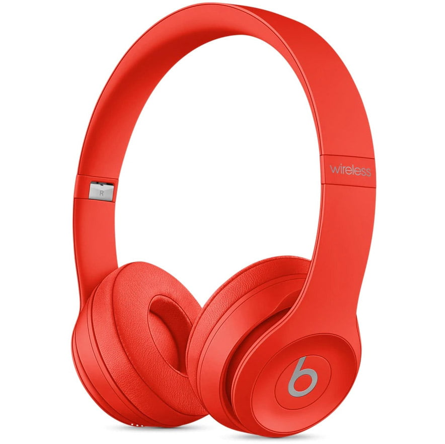Casti audio On-The-Ear Beats Solo3, Wireless, Noise Cancelling, Red