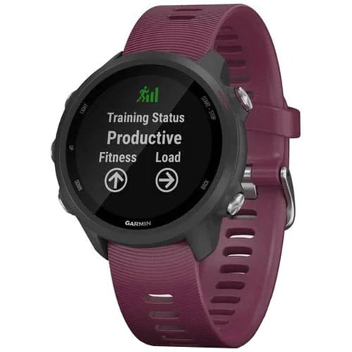 Ceas Smartwatch Forerunner 245, 42 mm, GPS, Berry