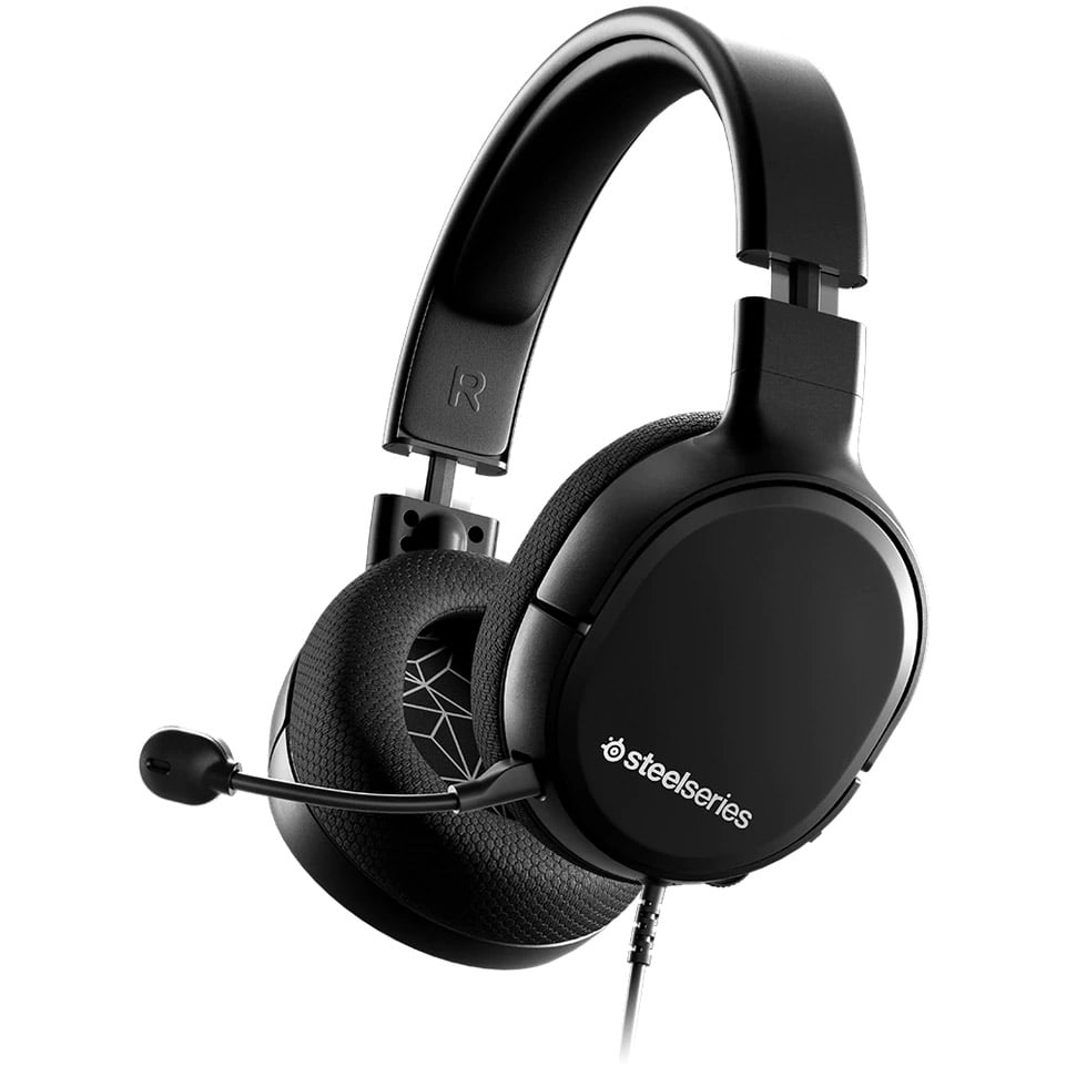 Casti audio Over-Ear SteelSeries Arctis 1, Gaming, Black