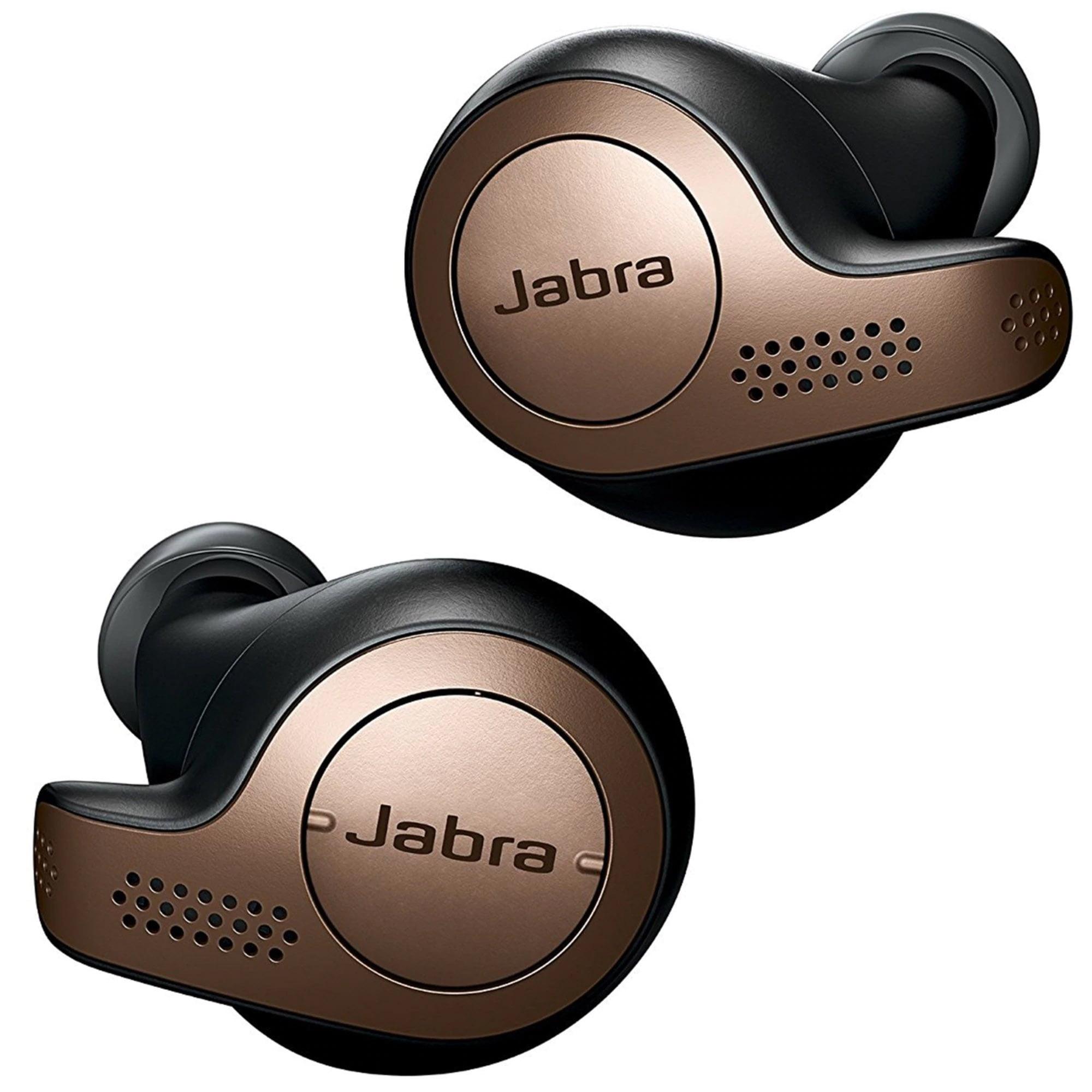 Casti bluetooth Jabra Elite 65t, In-Ear, Copper Black