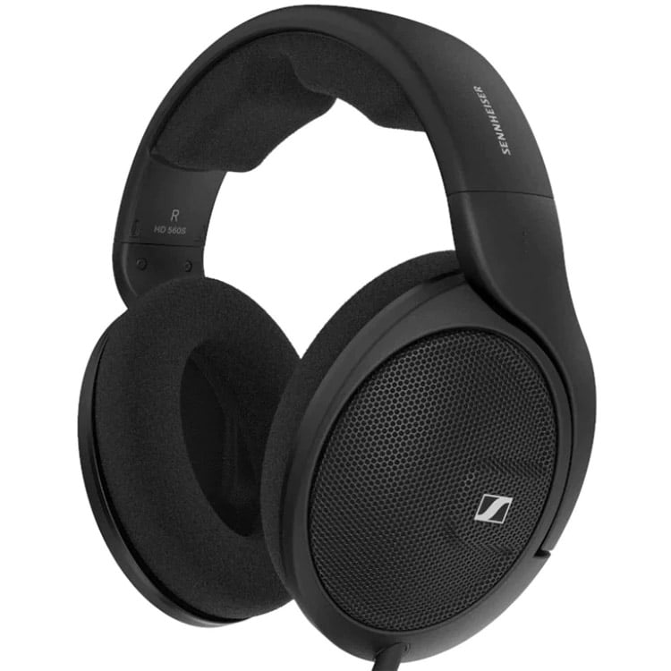 Casti Sennheiser HD 560S, Over-Ear, Hi-Fi, Noise Cancelling, Black
