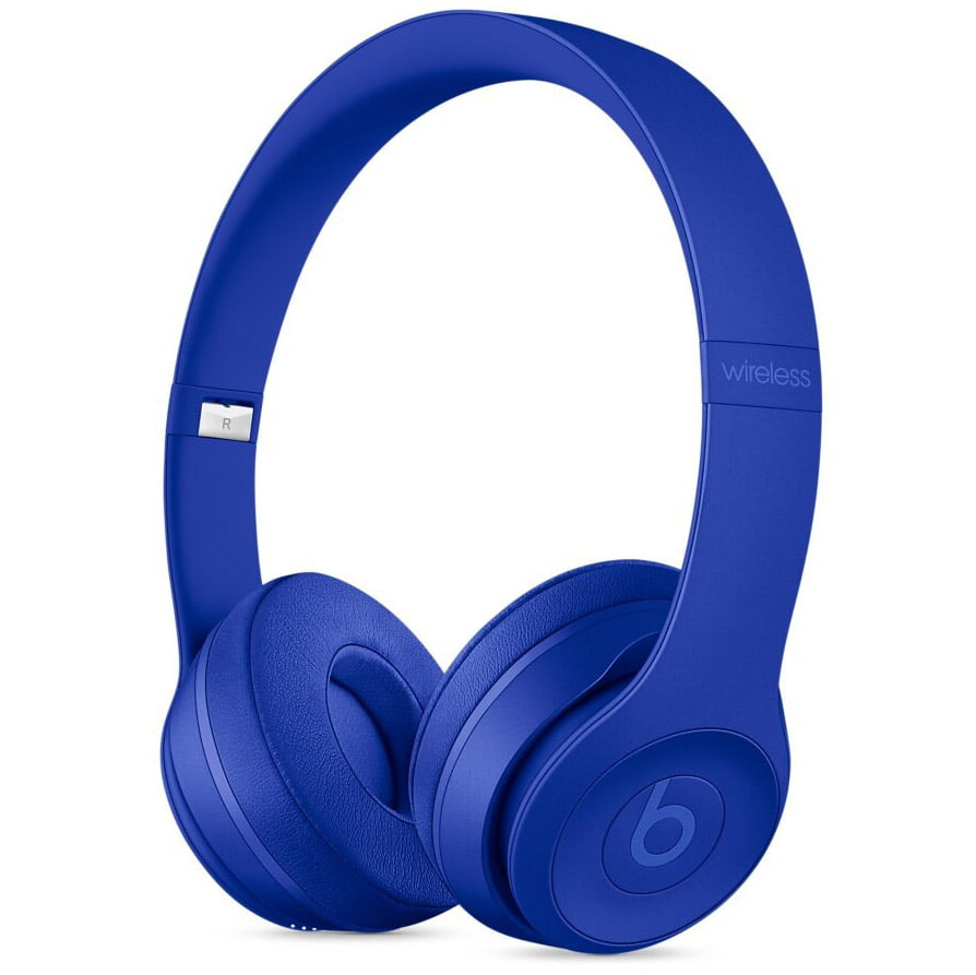 Casti audio On-The-Ear Beats Solo3, Wireless, Noise Cancelling, Neighborhood Collection, Break Blue