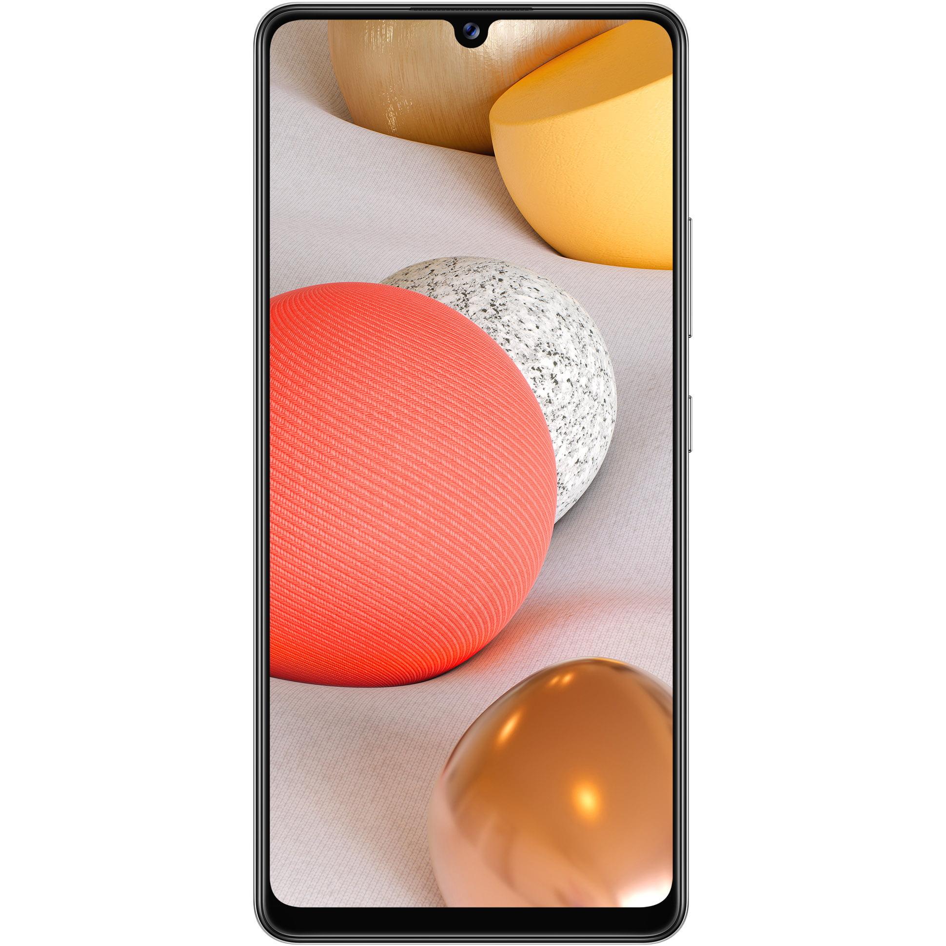 Telefon mobil Samsung Galaxy A42, Dual SIM, 128GB, 4GB RAM, 5G, Prism Dot White