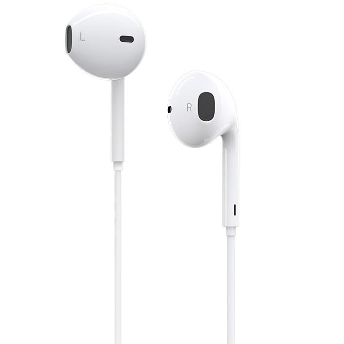 Casti audio In-Ear Borofone BM32, Lightning, Microfon, White