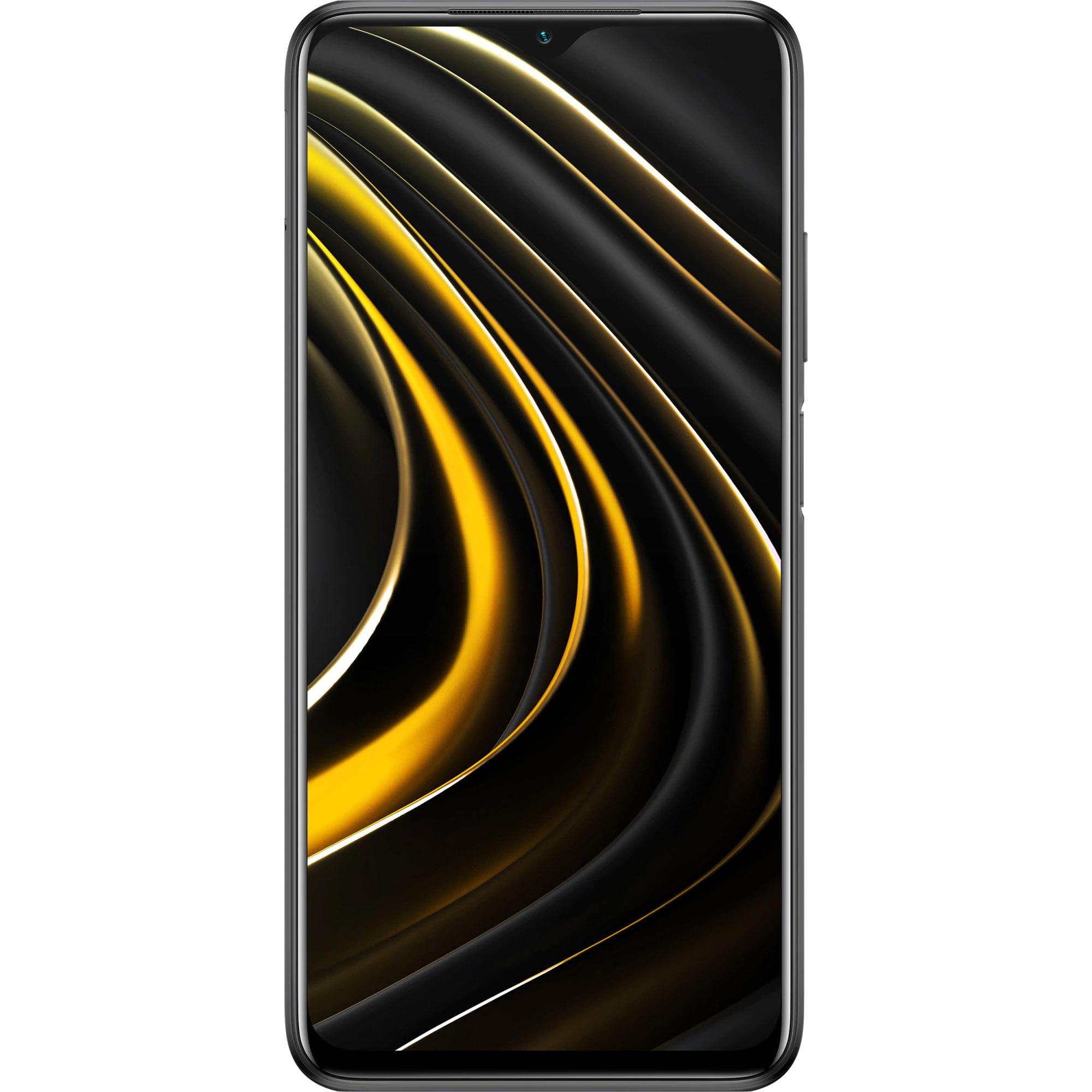 Telefon mobil Xiaomi Poco M3, Dual SIM, 128GB, 4GB RAM, 4G, Power Black