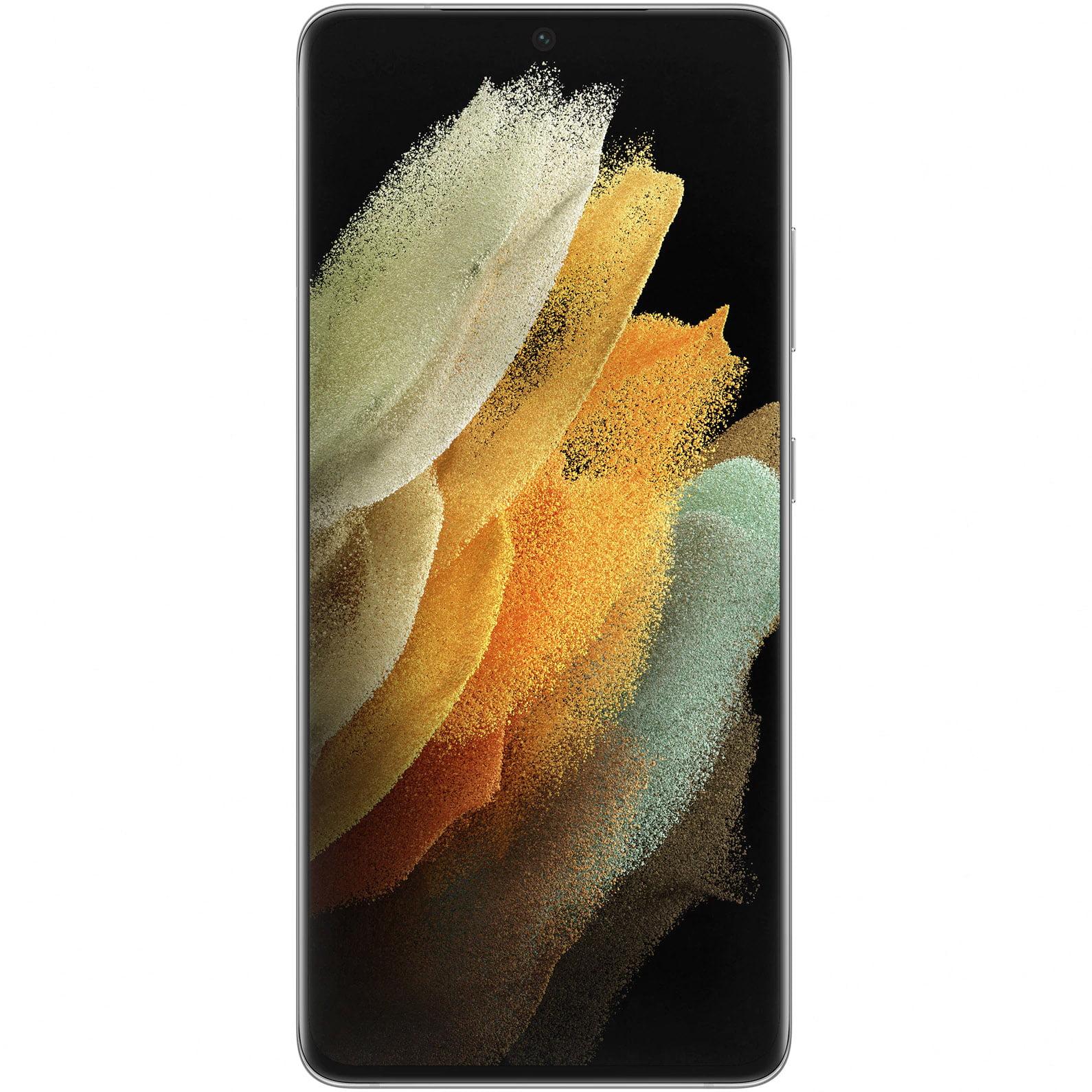 Telefon mobil Samsung Galaxy S21 Ultra, Dual SIM, 256GB, 12GB RAM, 5G, Phantom Silver