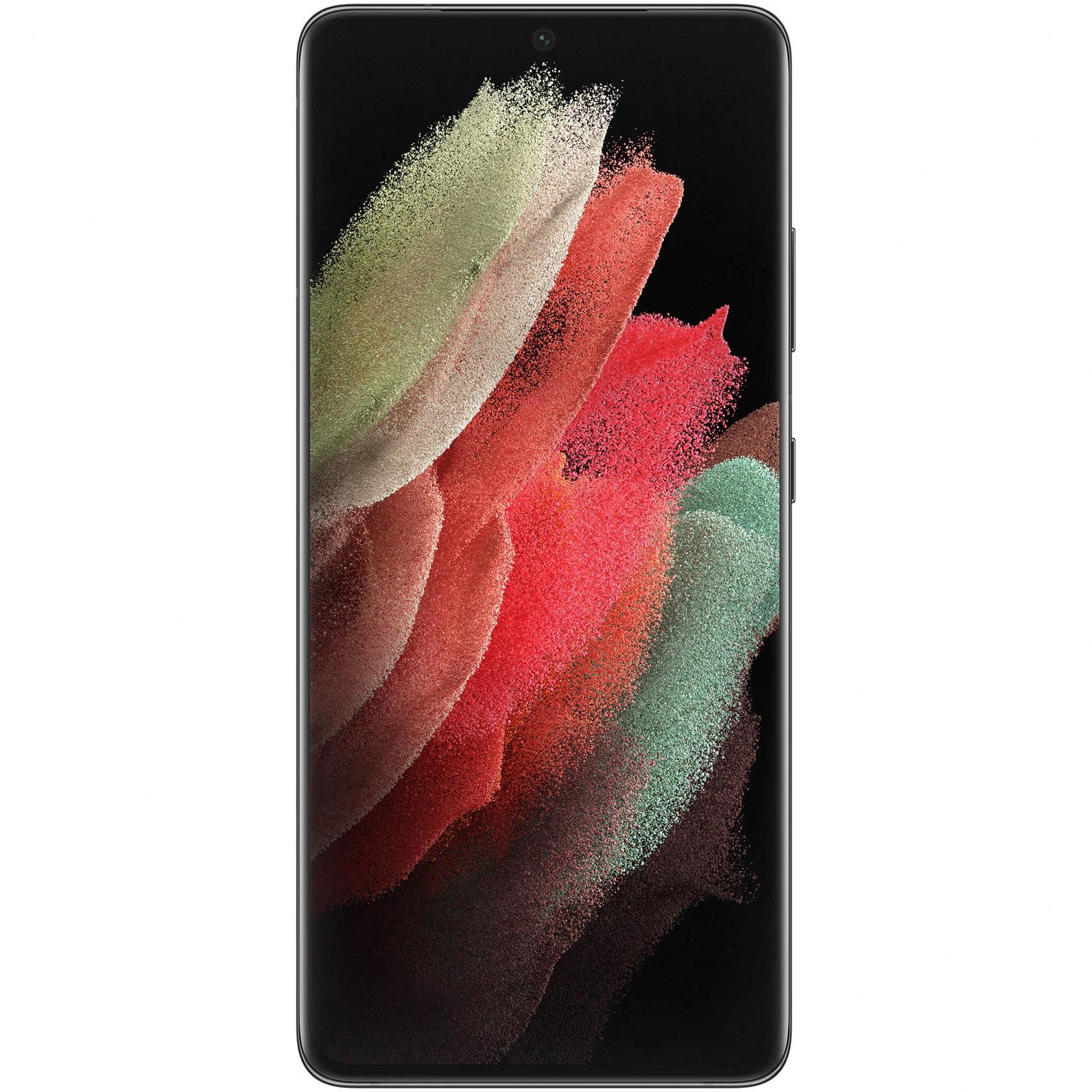 Telefon mobil Samsung Galaxy S21 Ultra, Dual SIM, 256GB, 12GB RAM, 5G, Phantom Black