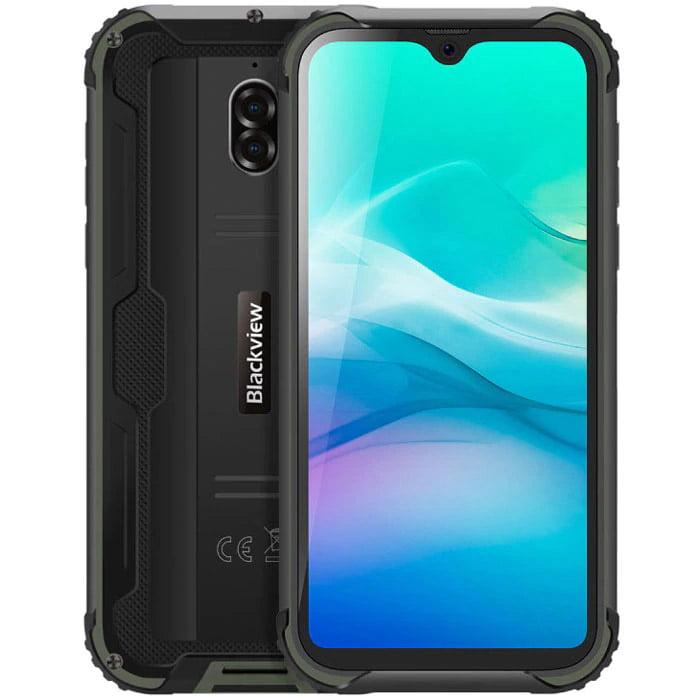 Telefon mobil Blackview BV5900, Dual SIM, 5580mAh, 32GB, 3GB RAM, 4G, Green
