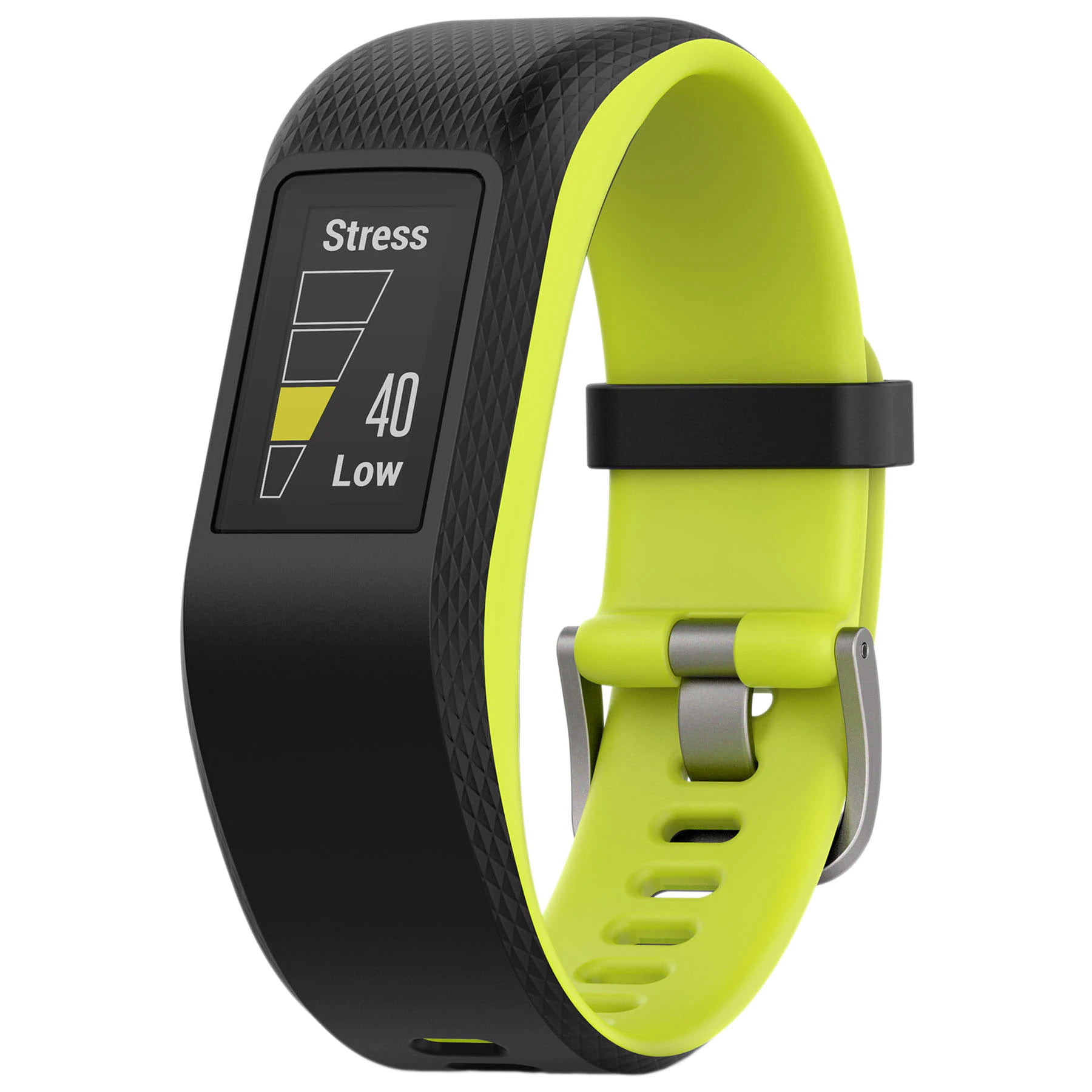 Bratara fitness Garmin Vivosport, GPS, Silicon, Large, Limelight