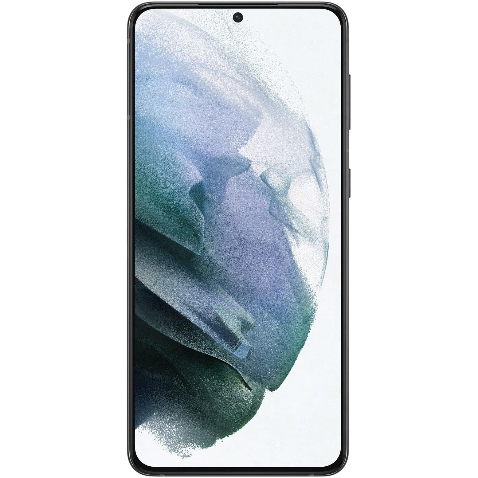 Telefon mobil Samsung Galaxy S21 Plus, Dual SIM, 128GB, 8GB RAM, 5G, Phantom Black