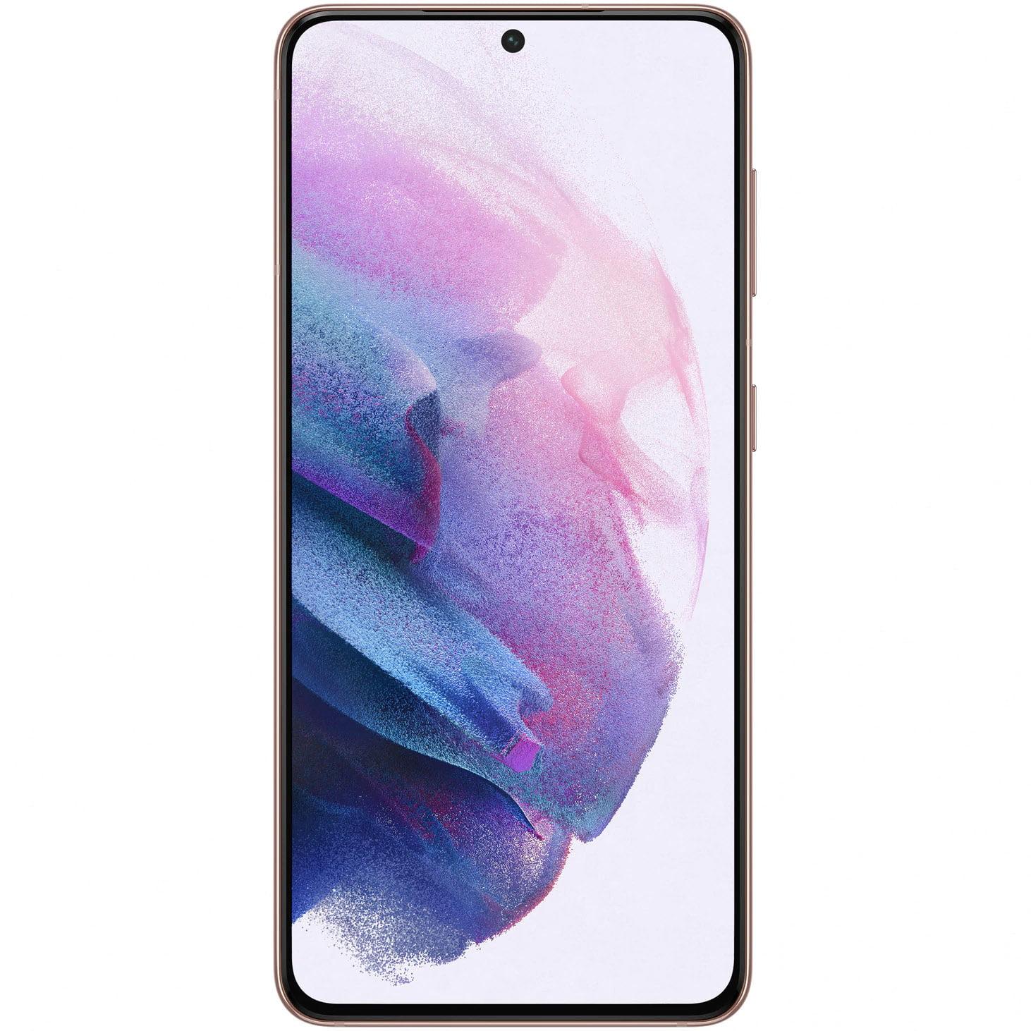 Telefon mobil Samsung Galaxy S21, Dual SIM, 256GB, 8GB RAM, 5G, Phantom Violet