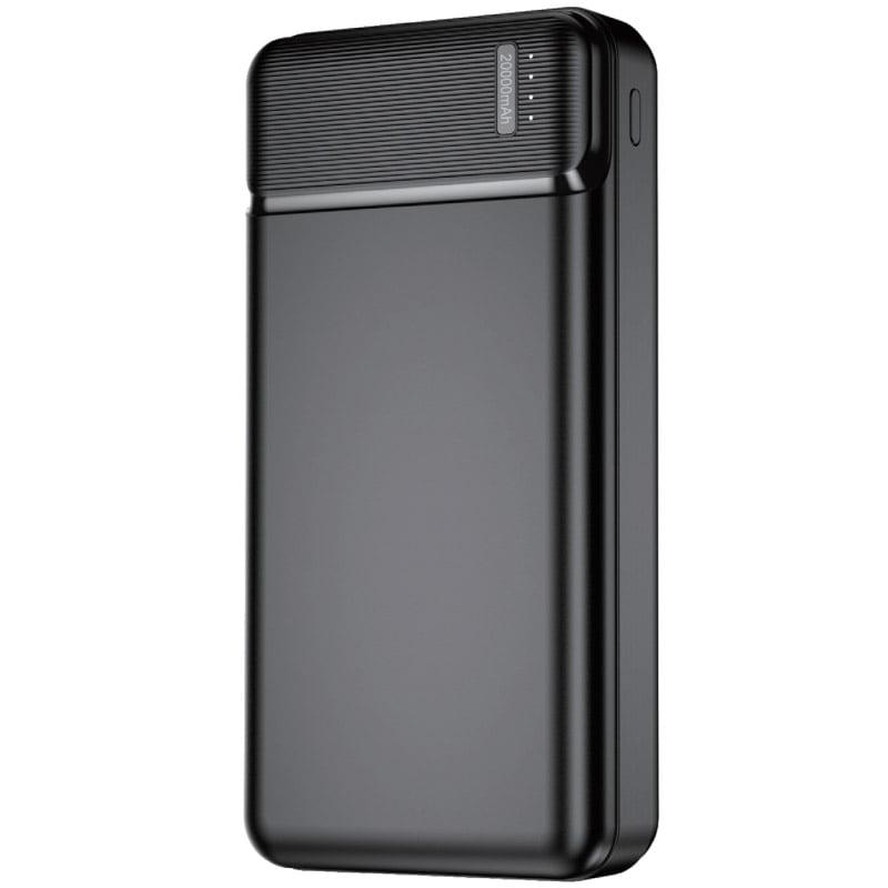 Baterie Externa (Powerbank) Travel, 20000 mAh, MicroUSB/ USB-C/ 2XUSB, Black