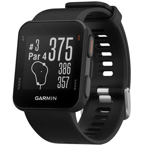 Ceas smartwatch Garmin Approach S10, Functii Golf, GPS, Black
