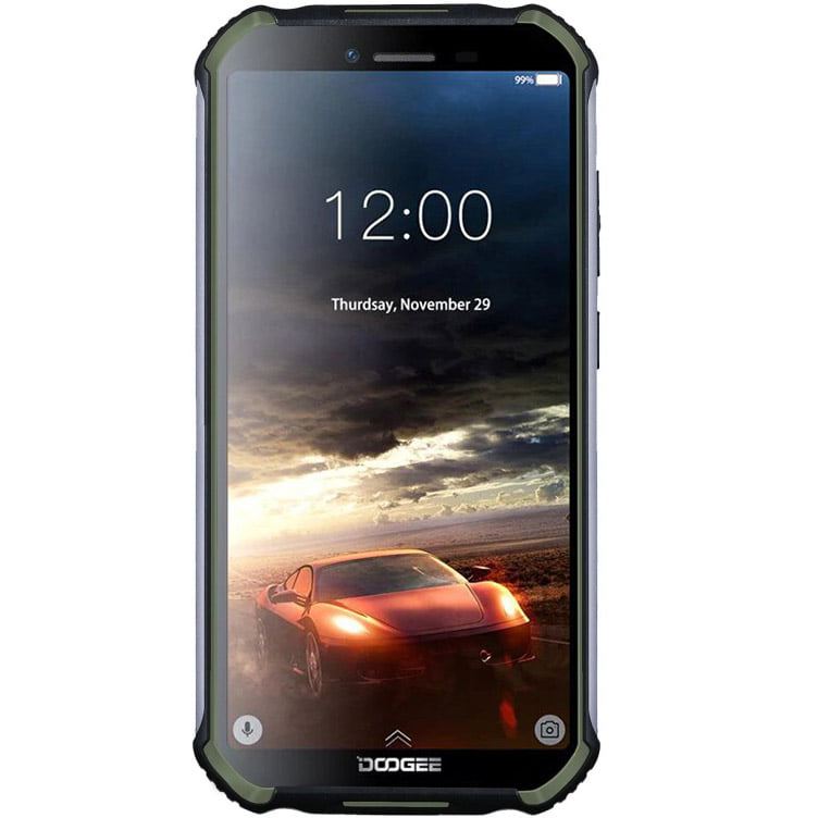 Telefon mobil Doogee S40 Pro, Dual SIM, 64GB, 4GB RAM, 4G, Army Green