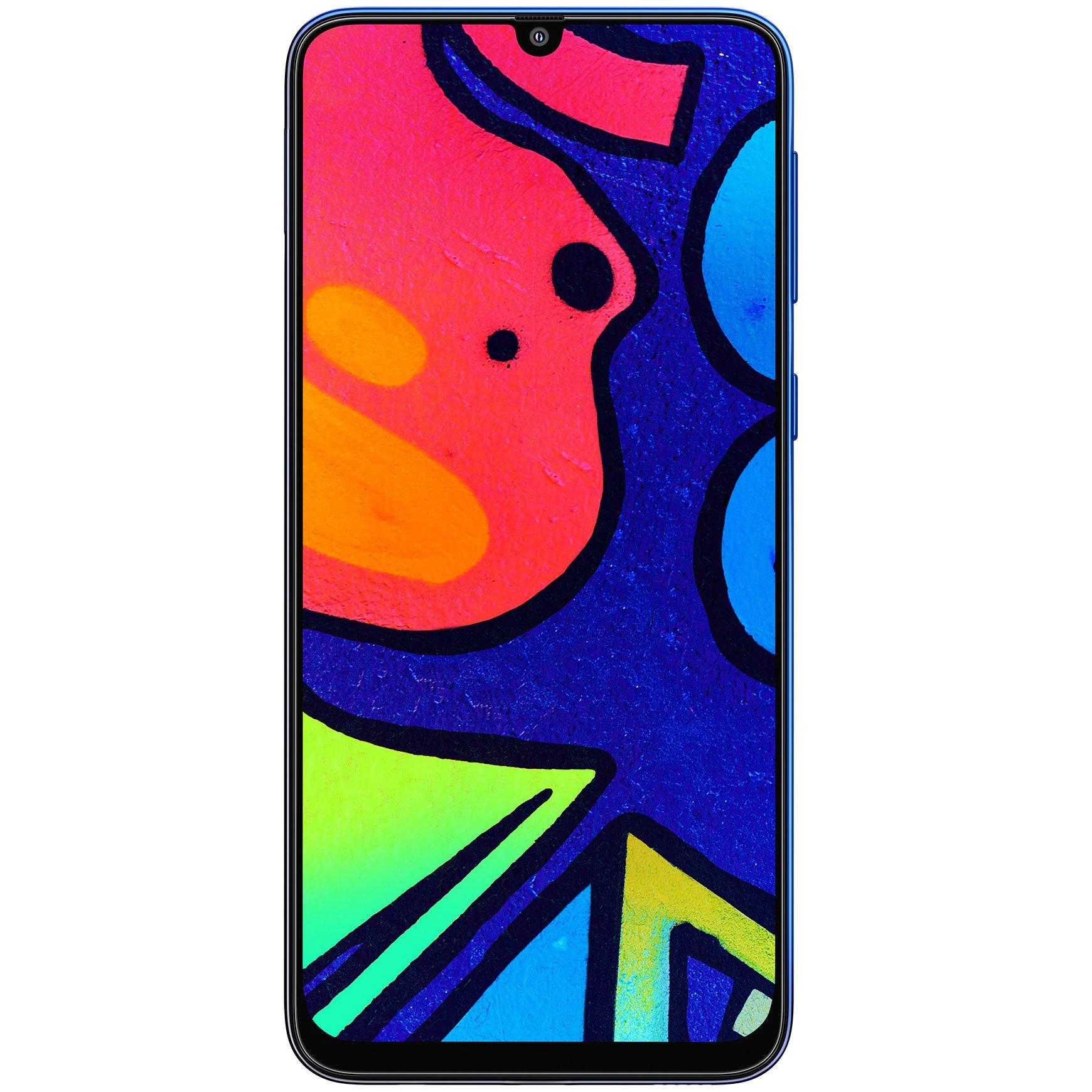 Telefon mobil Samsung Galaxy F41, Dual SIM, 128GB, 6GB RAM, 4G, Fusion Blue