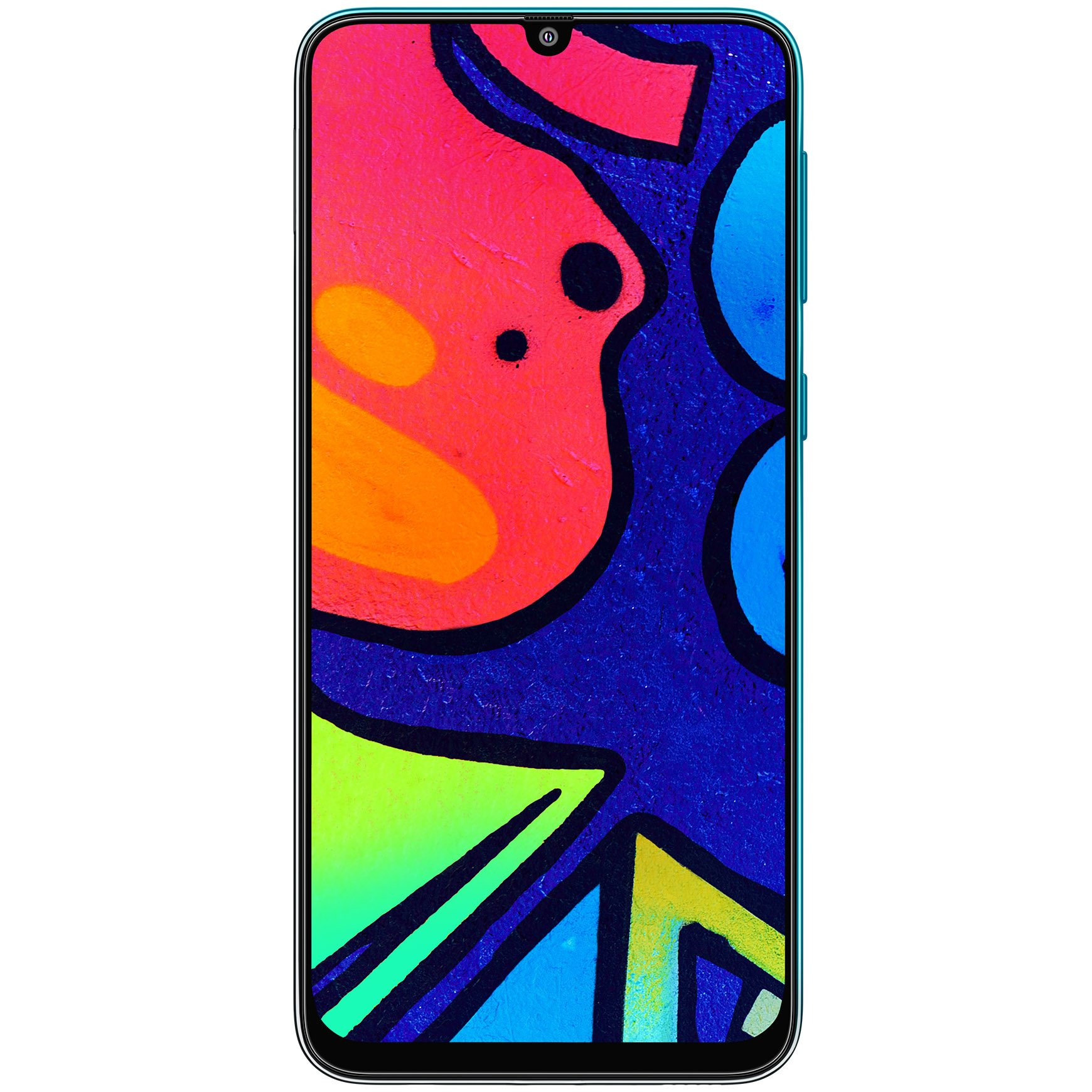 Telefon mobil Samsung Galaxy F41, Dual SIM, 128GB, 6GB RAM, 4G, Fusion Green