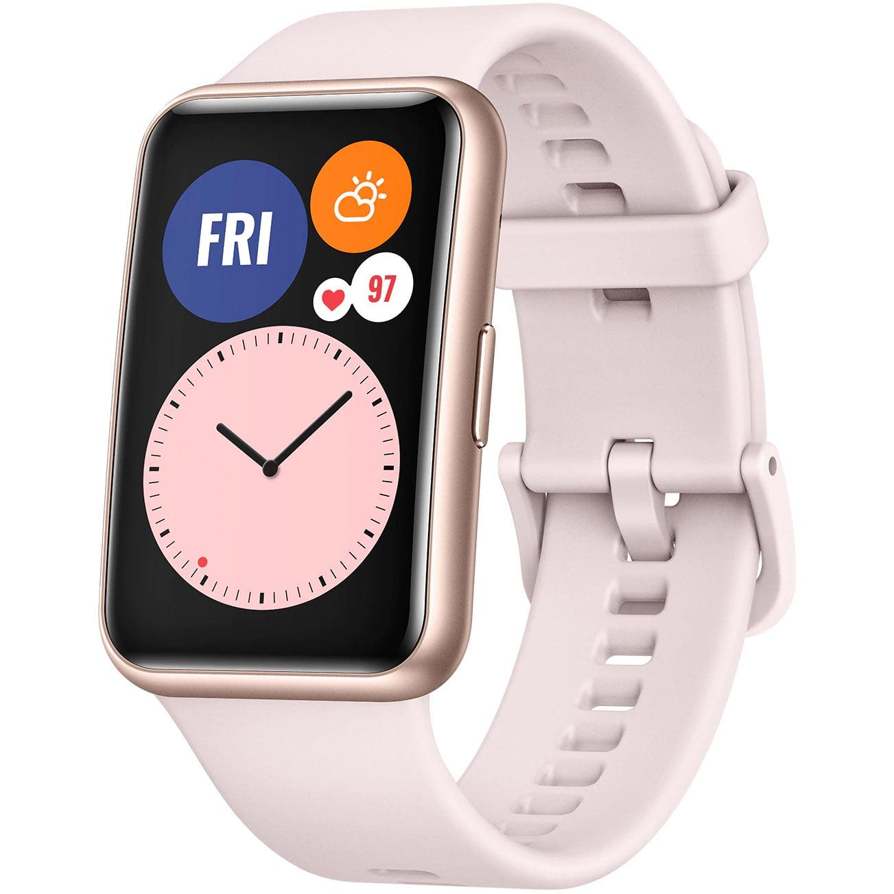 Ceas Smartwatch Huawei Watch Fit, GPS, HR, SpO2, Sakura Pink