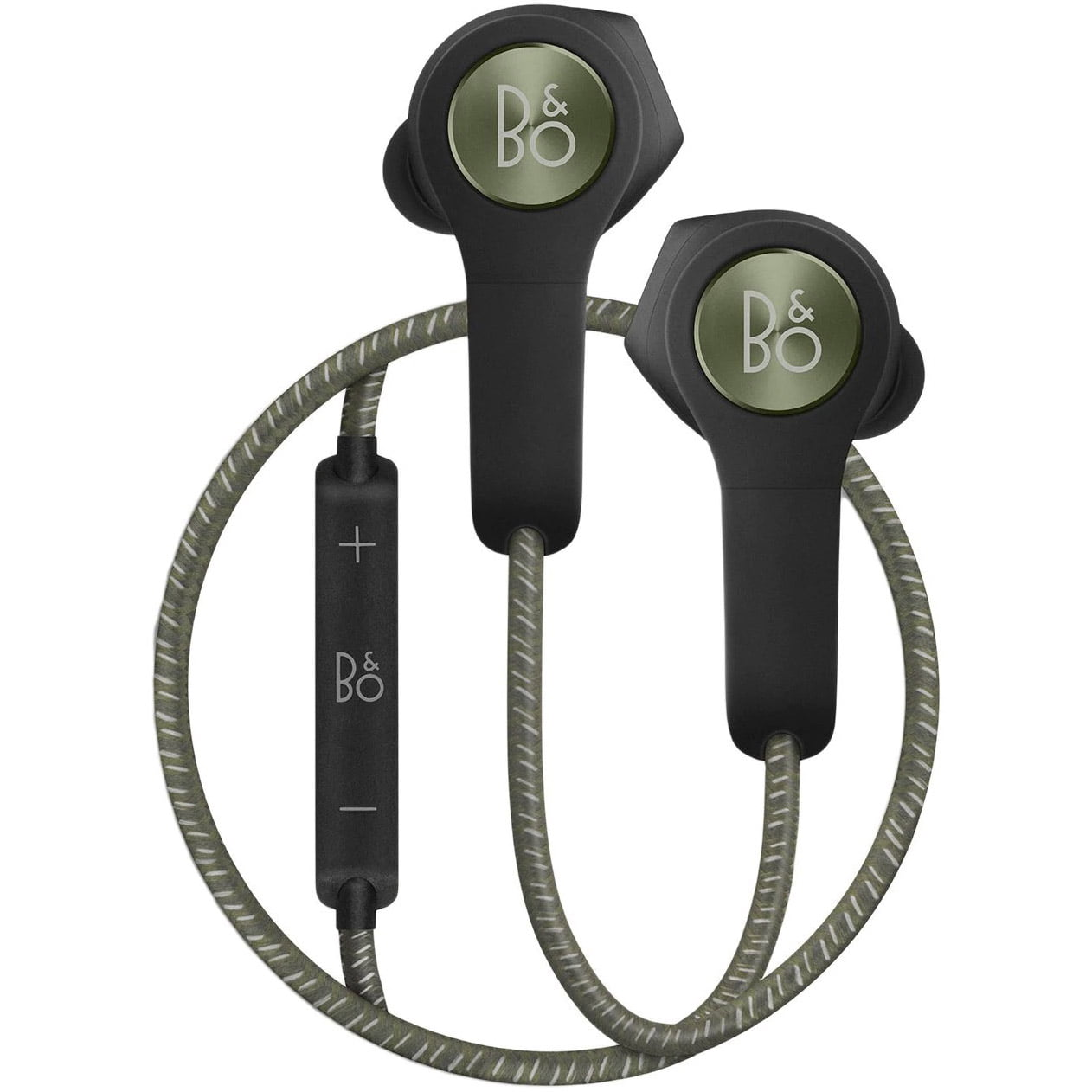 Casti In-Ear Bose Bang & Olufsen Beoplay H5, Bluetooth, Microfon, Noise Cancelling, Moss Green