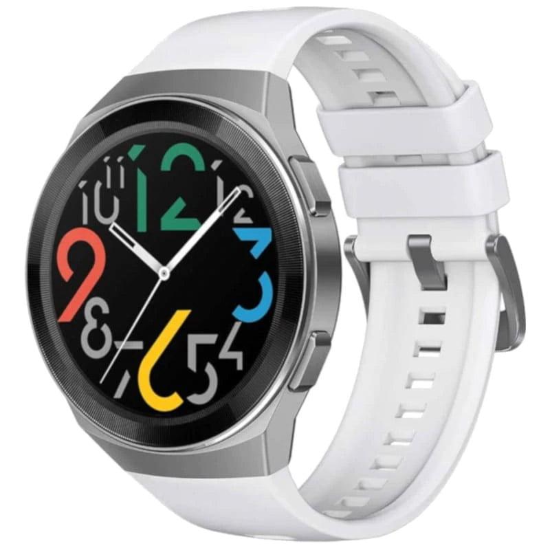 Ceas Smartwatch Huawei Watch GT 2e, GPS, SpO2, 46mm, White