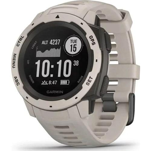 Ceas Smartwatch Garmin Instinct, 45 mm, HR, GPS, Tundra
