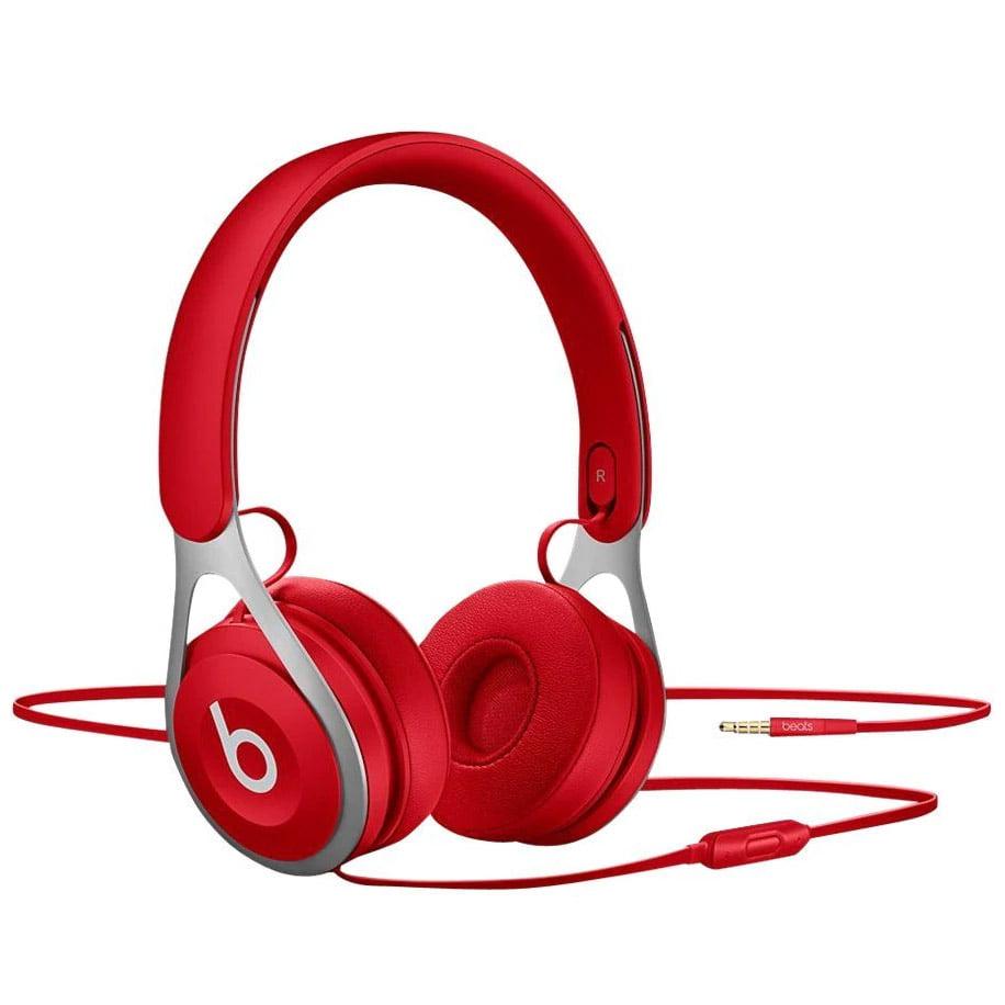 Casti audio On-Ear Beats EP, Microfon, Red
