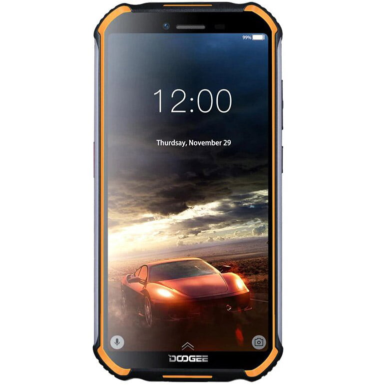 Telefon mobil Doogee S40 Pro, Dual SIM, 64GB, 4GB RAM, 4G, Fire Orange