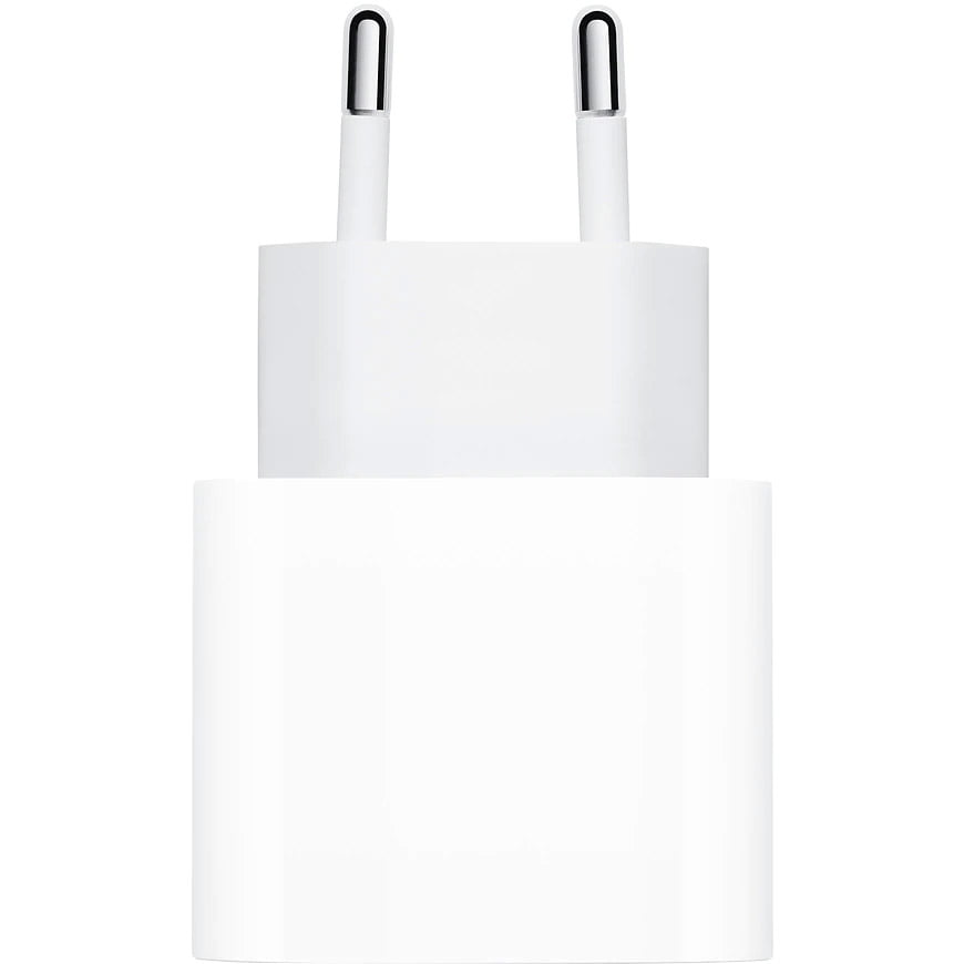 Incarcator retea original Apple, MHJE3ZM/A, Quick Charge 20W, USB-C, White