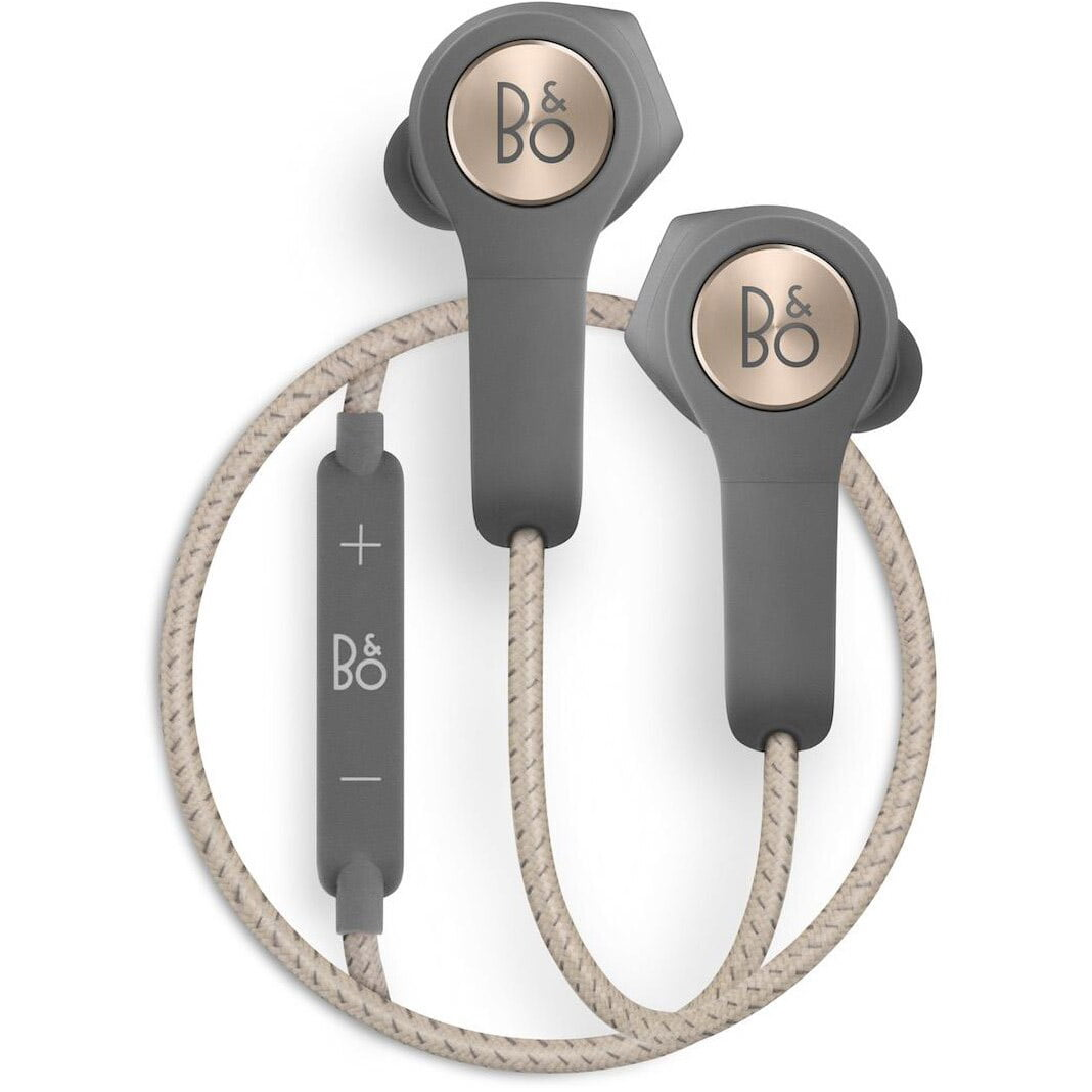Casti In-Ear Bose Bang & Olufsen Beoplay H5, Bluetooth, Microfon, Noise Cancelling, Charcoal Sand
