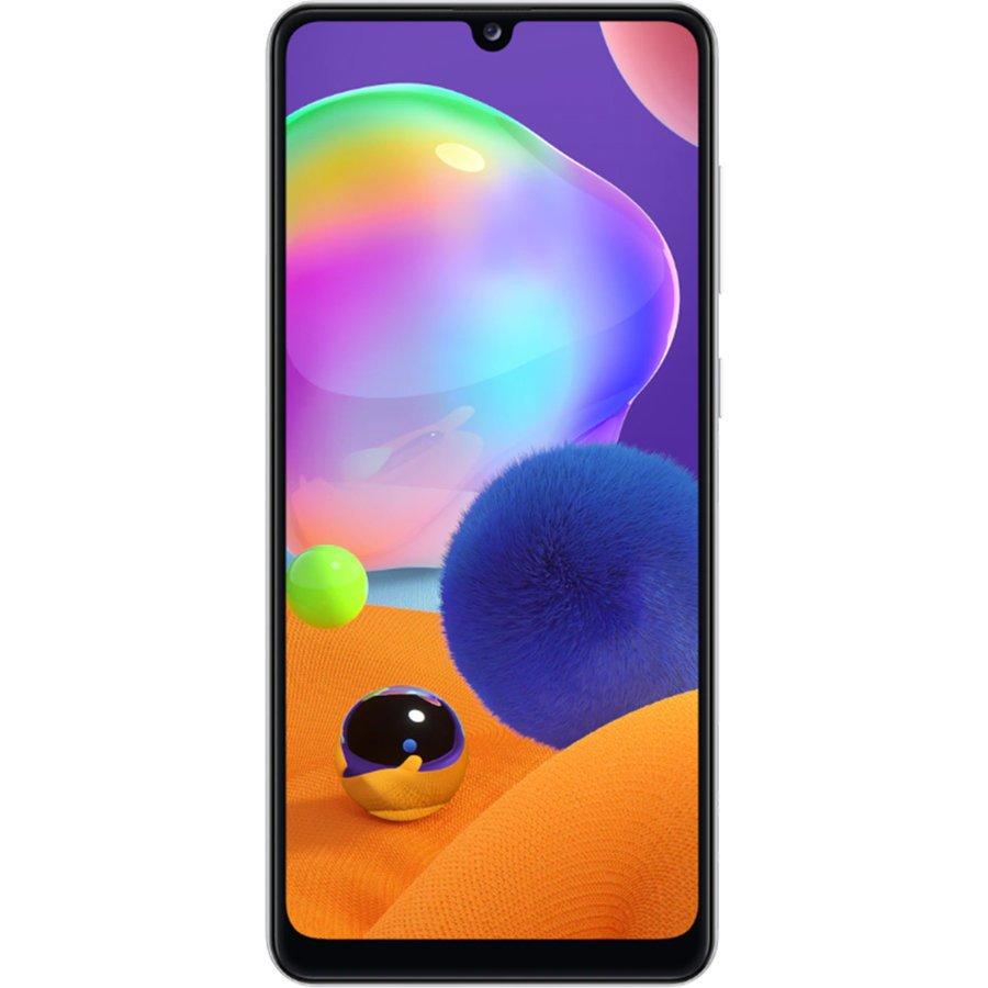 Telefon mobil Samsung Galaxy A31, Dual SIM, 128GB, 4GB RAM, 4G, Prism Crush White