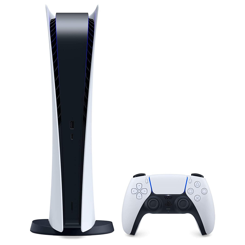 Consola Hardware Sony PlayStation 5 Digital Edition, 825GB, White
