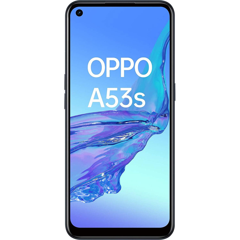 Telefon mobil Oppo A53s, Dual SIM, 128GB, 4GB RAM, 4G, Electric Black