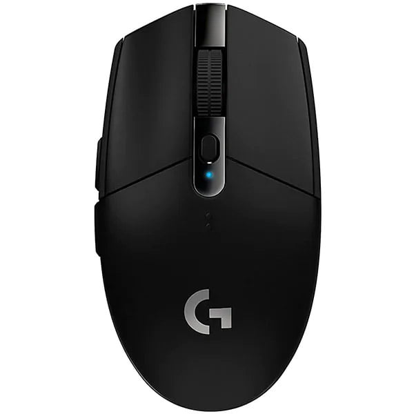 Mouse gaming Logitech G305, Wireless, LightSpeed Hero, 12K DPI, Black