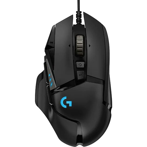 Mouse gaming Logitech G502 Hero, 16K DPI, Lightsync RGB, Black