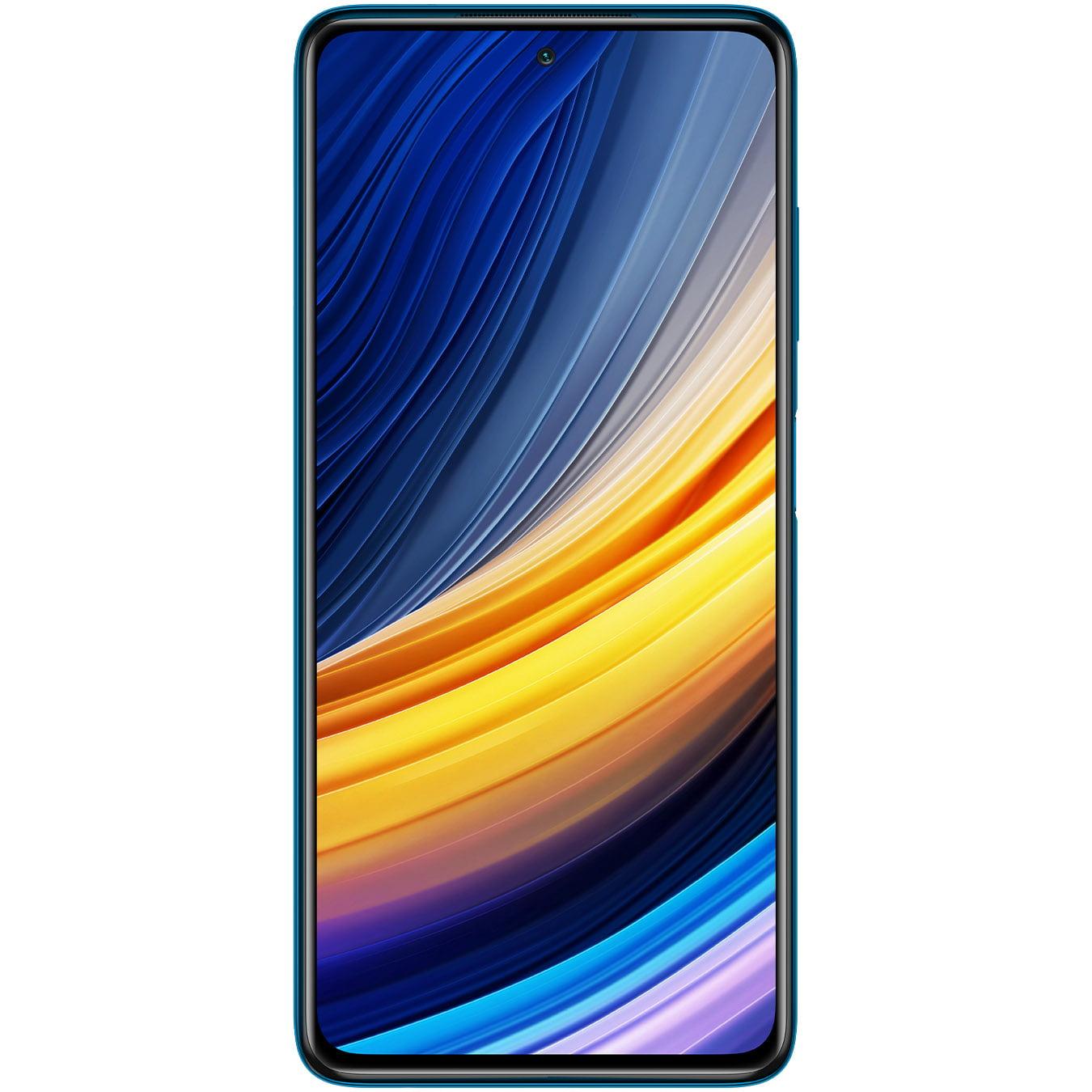 Telefon mobil Xiaomi Poco X3 Pro, Dual SIM, 256GB, 8GB RAM, 4G, Frost Blue