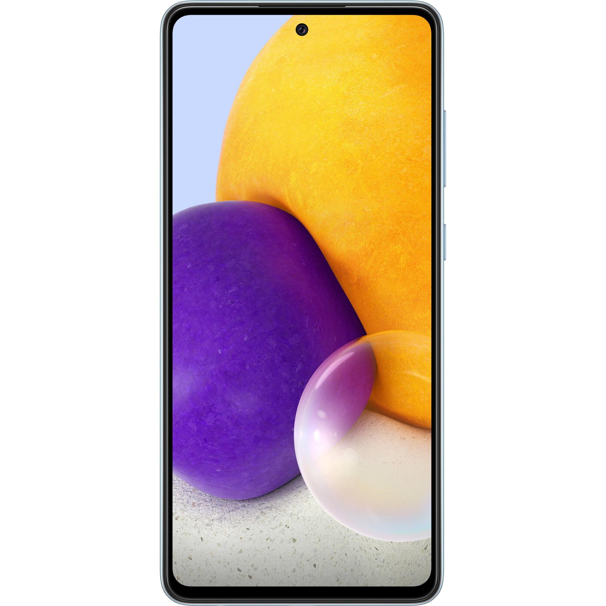 Telefon mobil Samsung Galaxy A72, Dual SIM, 128GB, 6GB RAM, 4G, Awesome Blue