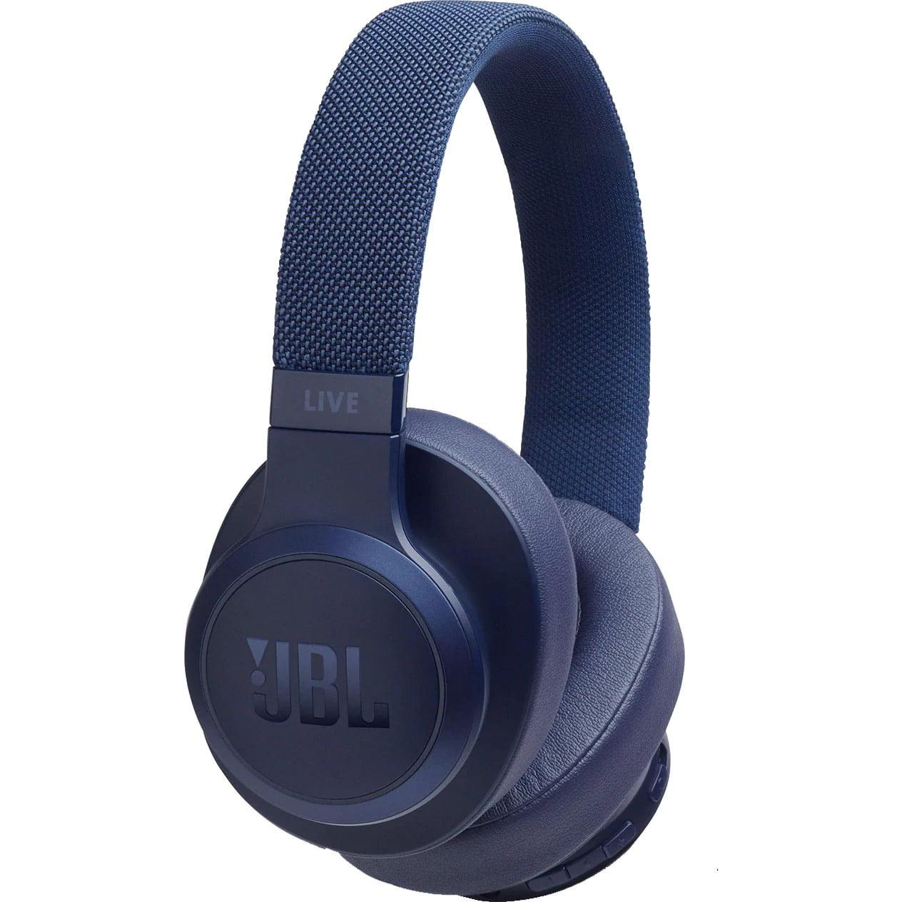 Casti audio Over-Ear JBL Live 500, Ambient Aware, TalkThru, Blue