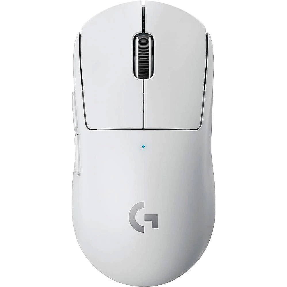 Mouse gaming Logitech Pro X Superlight, Wireless, LightSpeed Hero, 25K DPI, White