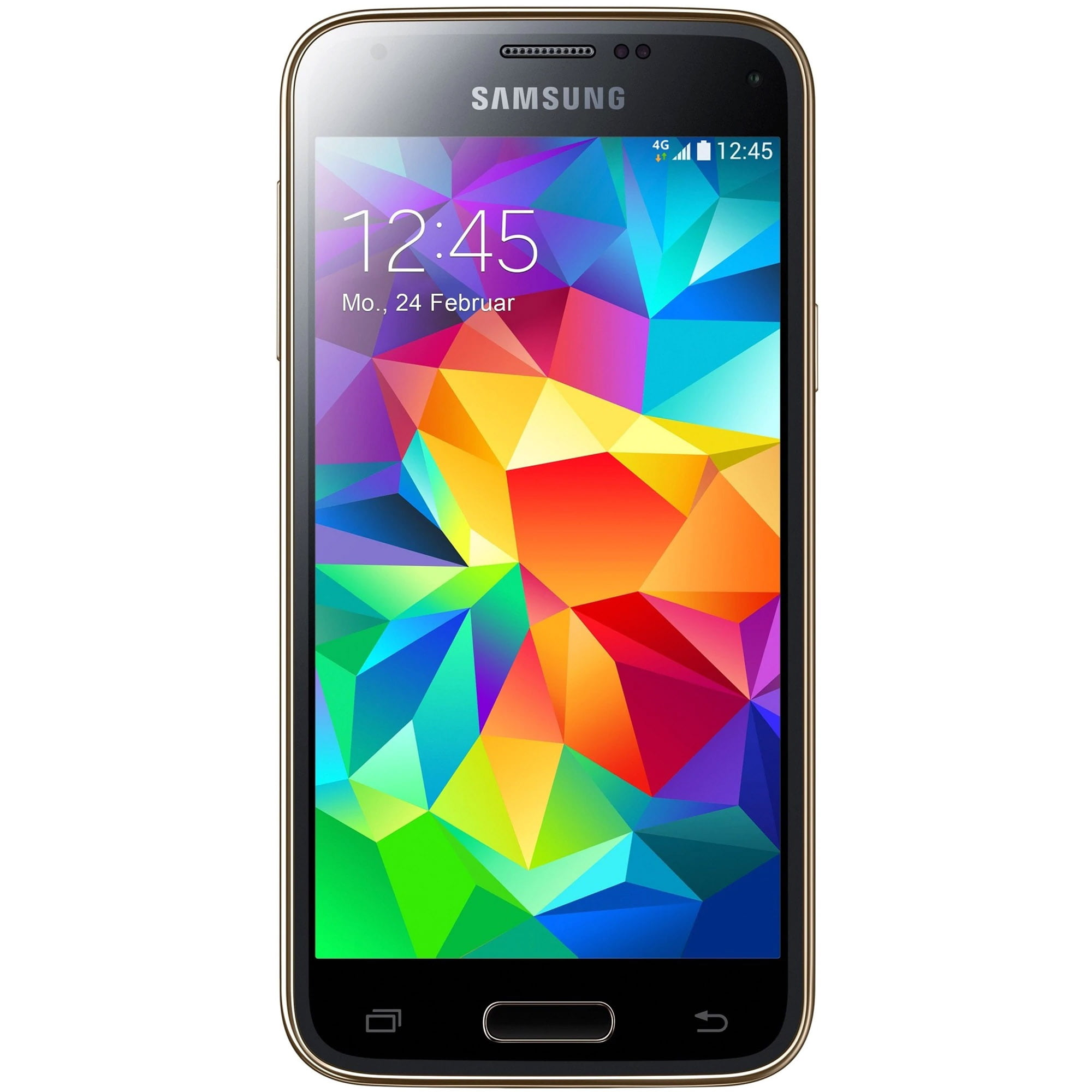 Telefon mobil Samsung Galaxy S5 Mini, Single SIM, 16GB, 4G, Copper Gold