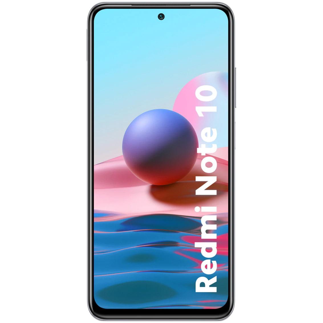 Telefon mobil Xiaomi Redmi Note 10, Dual SIM, 64GB, 4GB RAM, 4G, Pebble White
