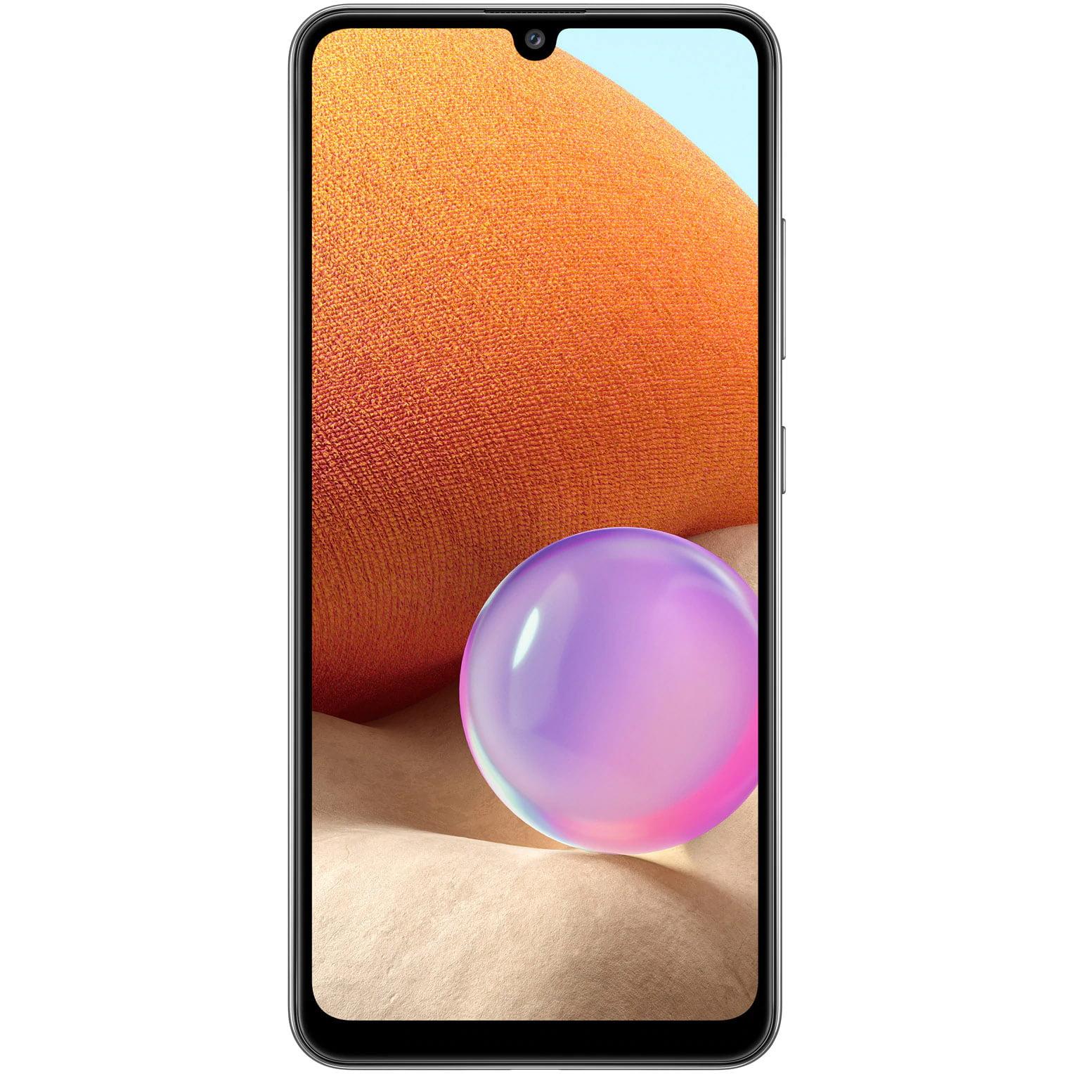 Telefon mobil Samsung Galaxy A32, Dual SIM, 128GB, 4GB RAM, 4G, Awesome Black