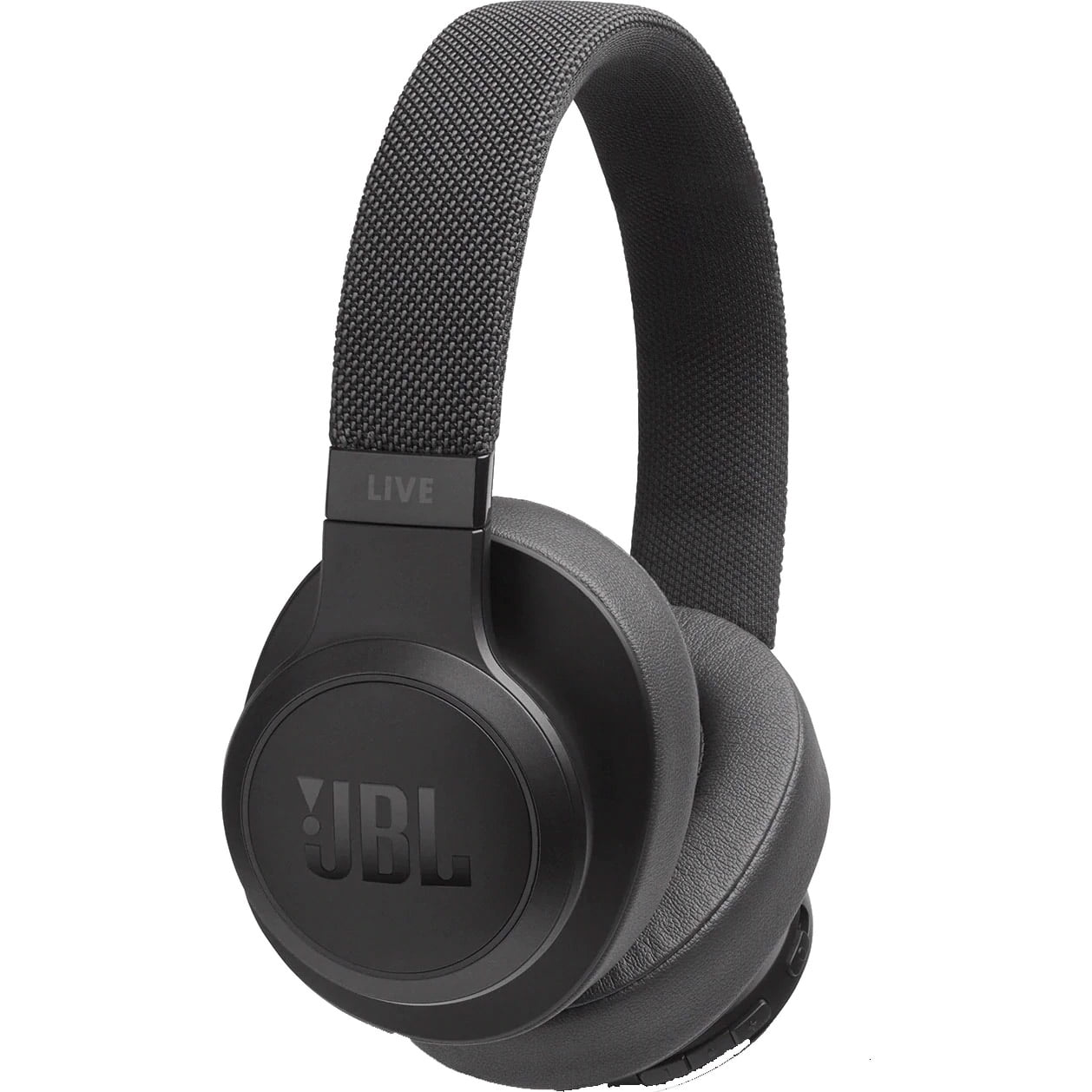 Casti audio Over-Ear JBL Live 500, Ambient Aware, TalkThru, Black