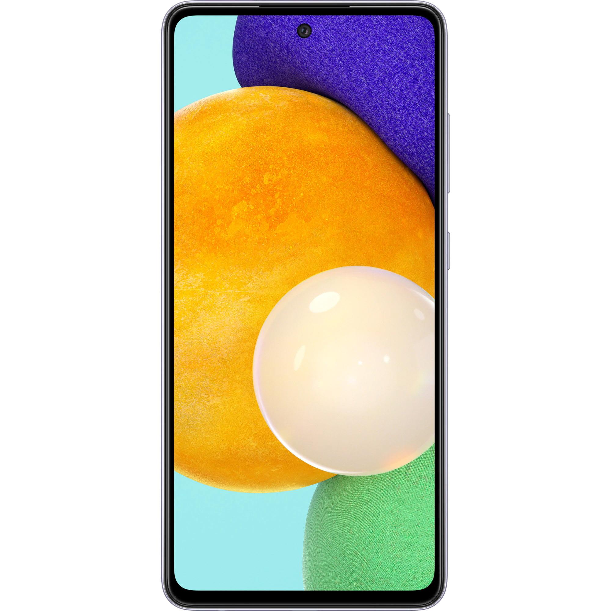 Telefon mobil Samsung Galaxy A52, Dual SIM, 128GB, 4GB RAM, 4G, Awesome Violet