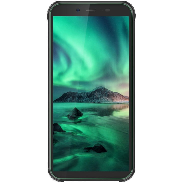 Telefon mobil Blackview BV5500 Plus, Dual SIM, 32GB, 3GB RAM, 4G, Green