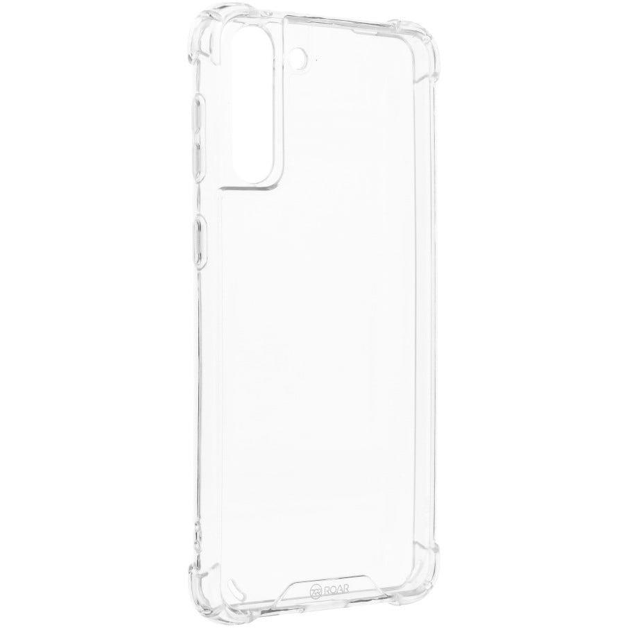 Husa Silicon Antisoc Roar Armor Jelly pentru Samsung Galaxy S21 Plus, Transparent
