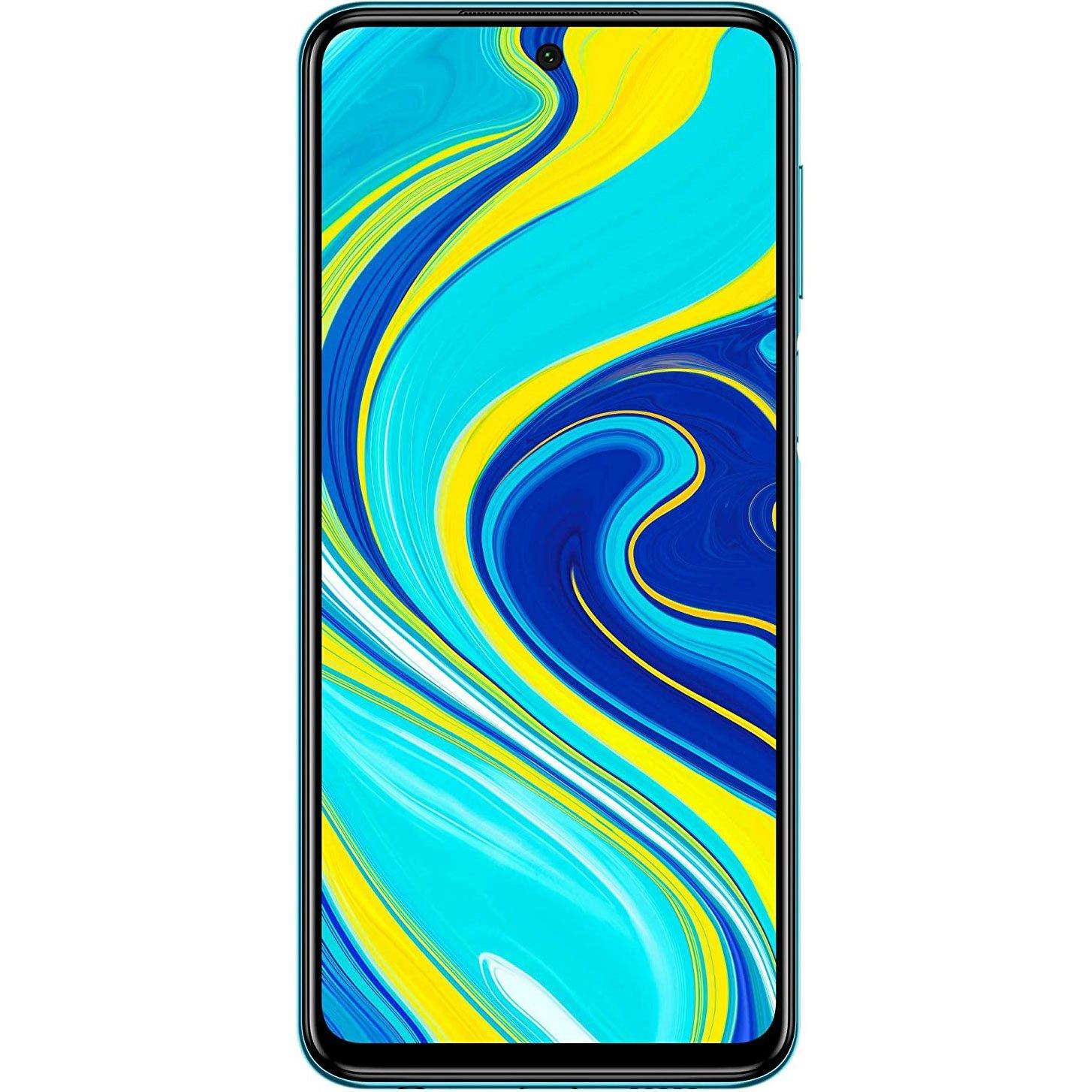 Telefon mobil Xiaomi Redmi Note 9 Pro, Dual SIM, 64GB, 4GB RAM, 4G, Aurora Blue
